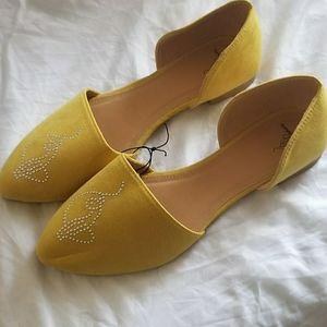 Baby Phat Mustard Yellow Flats